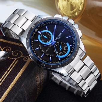 Đồng hồ nam chống nước dây thép cao cấp LONGBO LB8978
