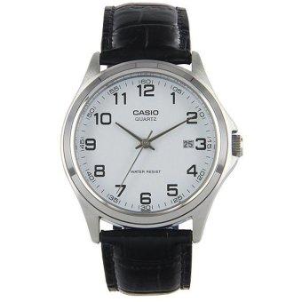 Đồng hồ nam dây da Casio MTP-1183E-7BDF (Đen)