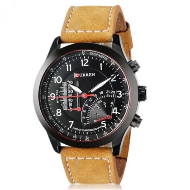 Nơi bán Đồng hồ nam dây da Curren DHN04 (Đen)