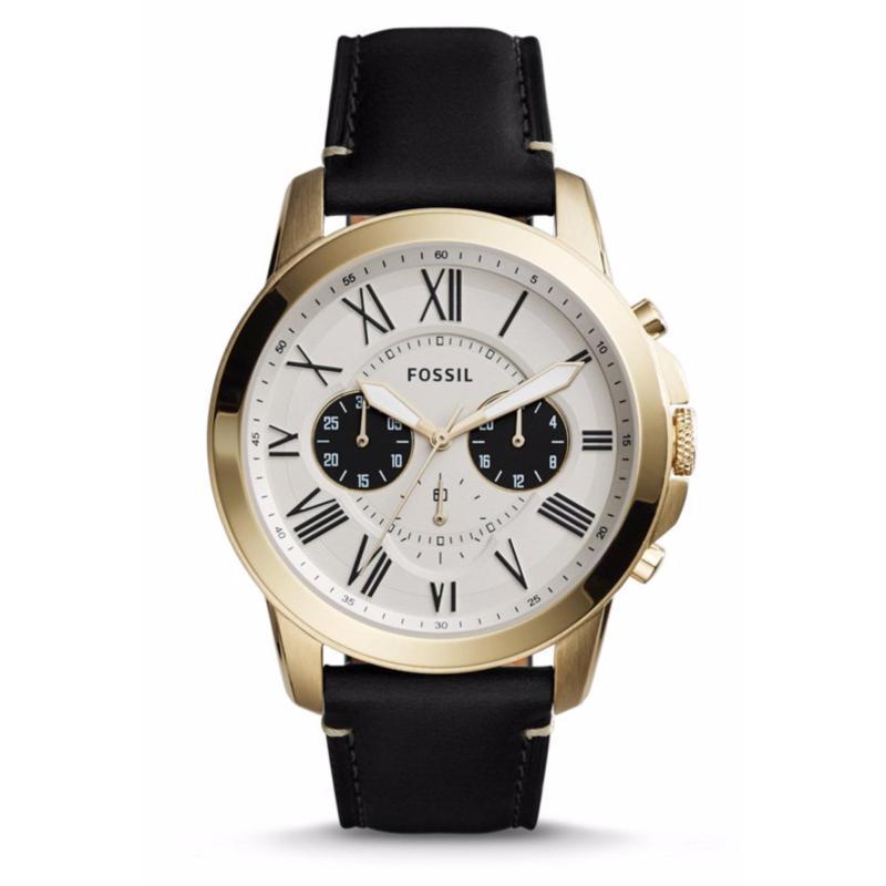 Nơi bán Đồng hồ nam dây da Fossil FS5272 (Đen)