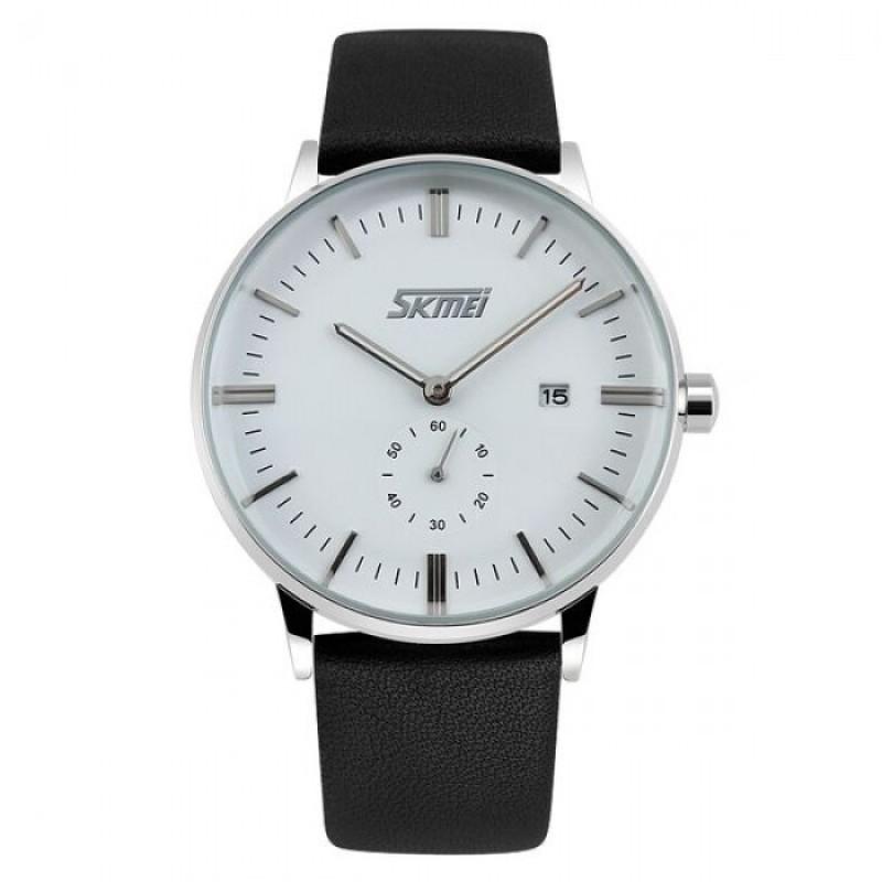 Nơi bán Đồng hồ nam dây da SK042 SKMEi (Nâu)