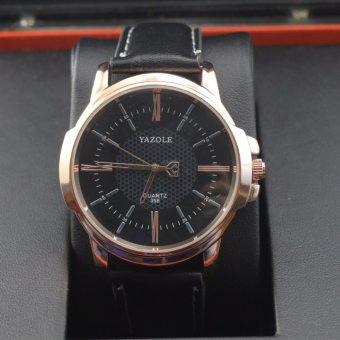 Đồng hồ nam dây da Yazole, phong cách Romatic MDL336