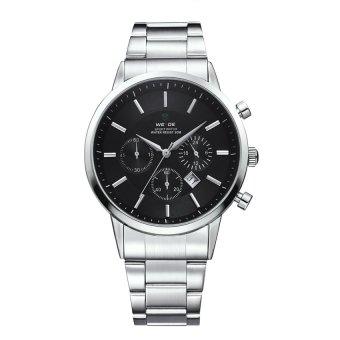 Đồng hồ nam dây kim loại Weide WH3312-1C (Trắng)  Time seller (Tp.HCM)
