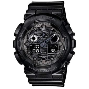 Đồng hồ nam dây nhựa cao su cao cấp G-Shock Casio GA-100CF-1ADR