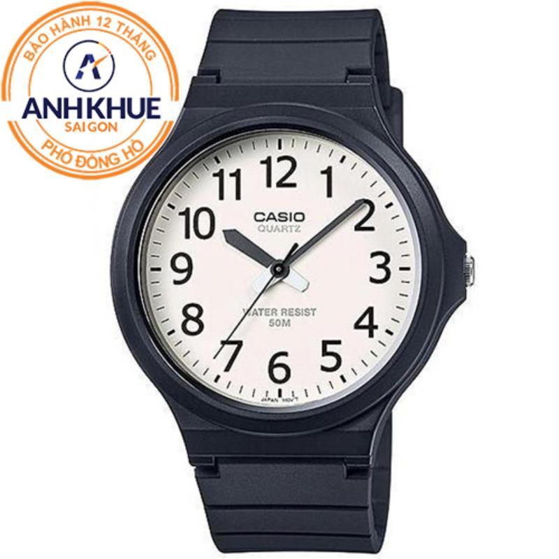 Nơi bán Đồng hồ nam dây nhựa Casio Anh Khuê MW-240-4BVDF