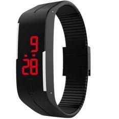 Đồng hồ nam dây nhựa dẻo Sport LED II (Đen)  .