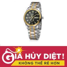 Báo Giá Đồng hồ nam dây thép cao cấp, bản đồ Việt Nam SINO Japan 8688 (Mặt đen) STT-S8688  ST-Store