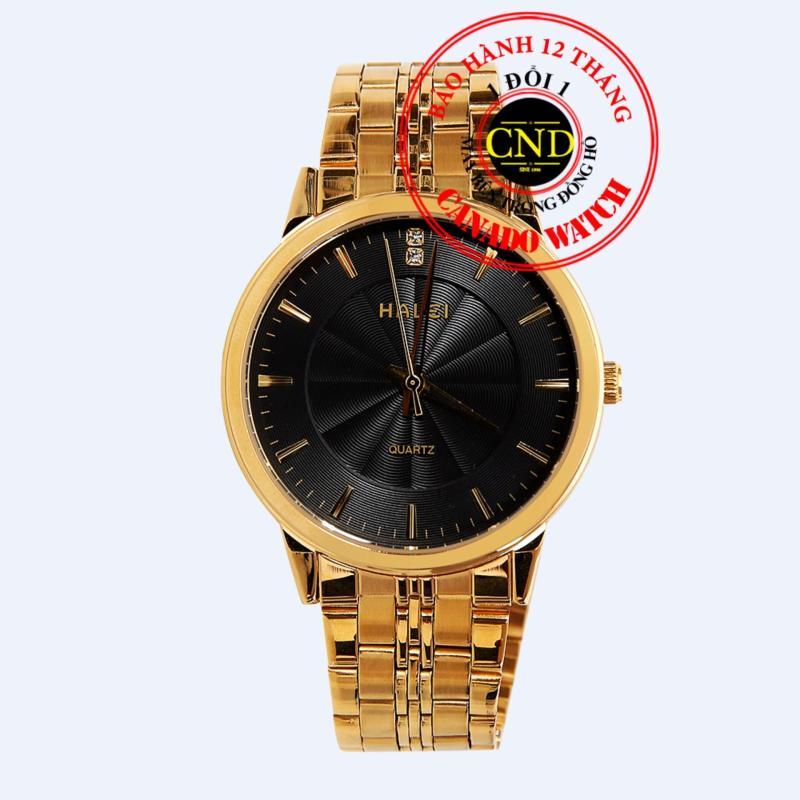 Nơi bán Đồng hồ nam dây thép Halei HL3604 Mặt Kính Saphia Chống Xước Chống Nước