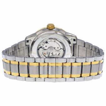 Đồng hồ nam dây thép không gỉ Bulova BU76 (Bạc phối vàng)