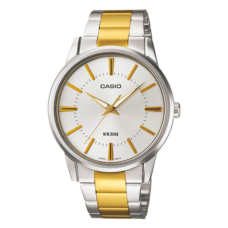 Nơi bán Đồng hồ nam dây thép không gỉ Casio MTP-1303SG-7AVDF (Bạc)