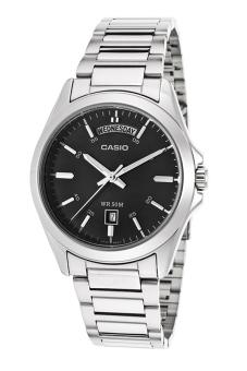 Đồng hồ nam dây thép không gỉ Casio MTP-1370D-1A1VDF (Trắng)