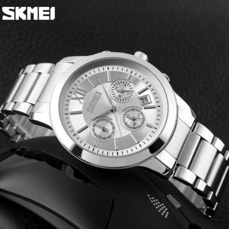 Nơi bán Đồng hồ nam dây thép không gỉ chạy 6 kim SKMEI 997X thời trang