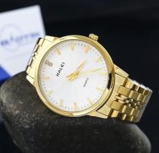 Đồng hồ nam dây thép không gỉ Halei chống nước DHL10042