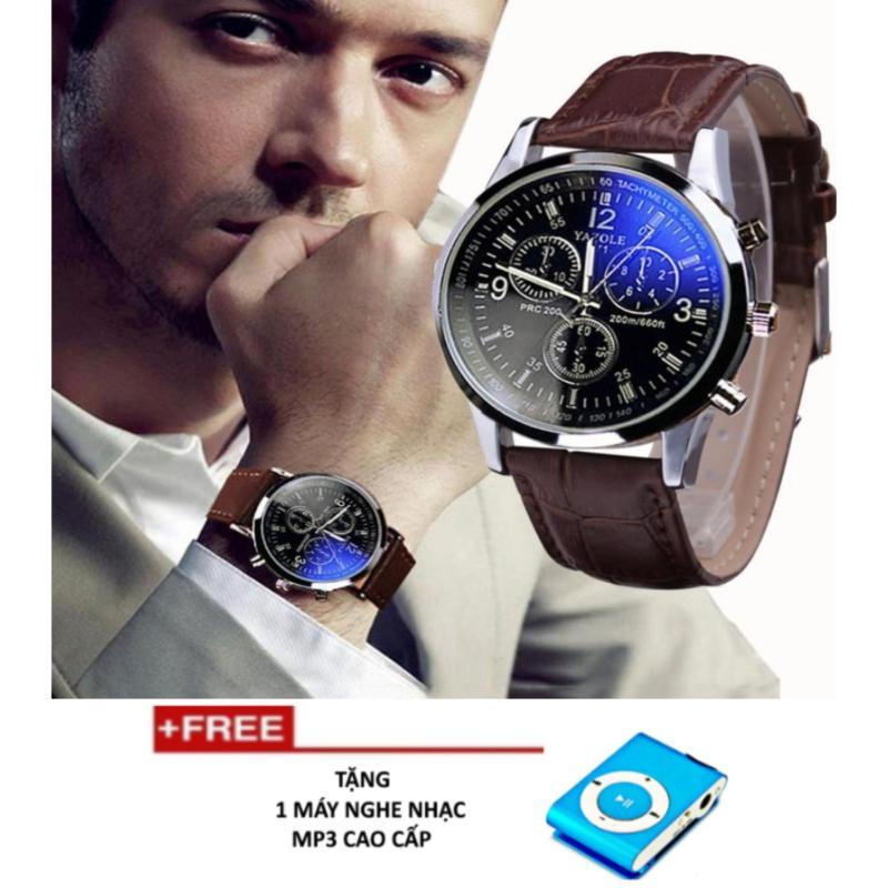 Nơi bán Đồng hồ nam phong cách châu âu PKNK-209 + Tặng 1 máy nghe nhạc MP3 cao cấp