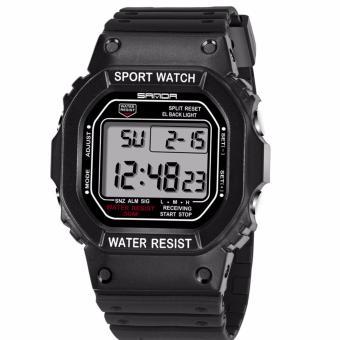 Nơi nào bán Đồng hồ nam SANDA 07826 dây nhựa dẻo thể thao không thấm nước