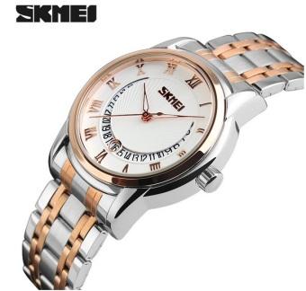 Đồng hồ nam thép không gỉ SKMEI 9122 (Vàng)