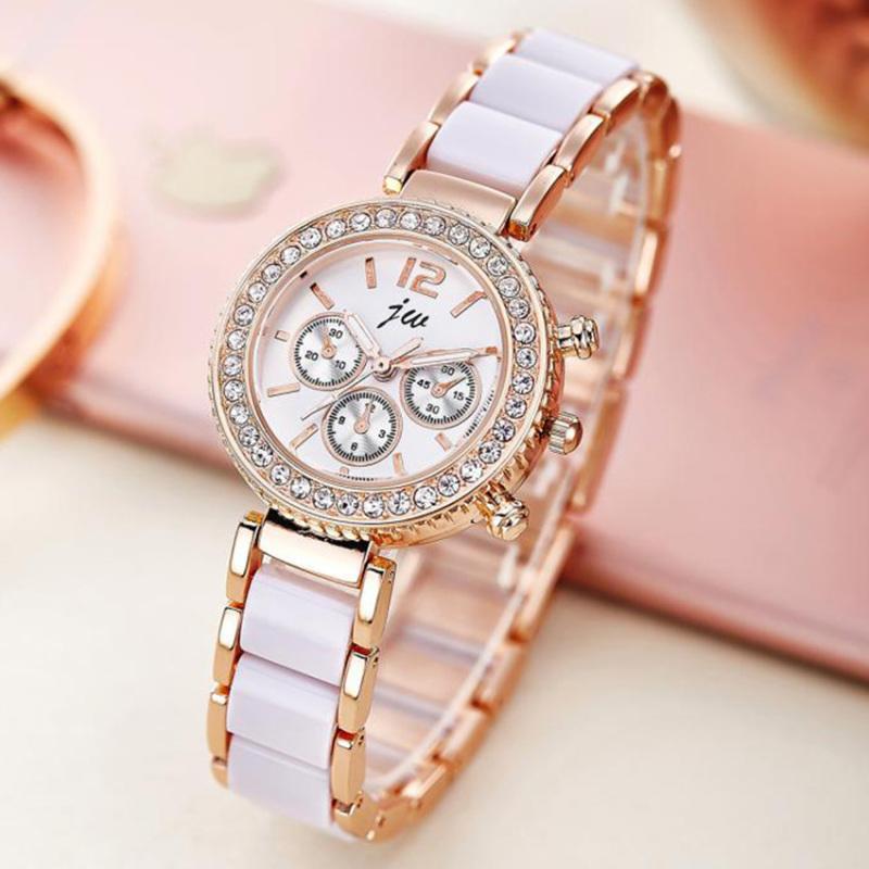 Nơi bán Đồng hồ nữ dây hợp kim JW JW004-1 (Bạc) + Tặng 1 dây đeo cổ bất kì