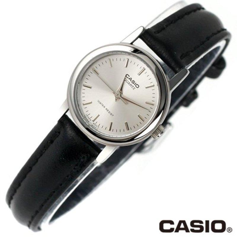 Nơi bán Đồng hồ nữ dây da Casio LTP-1095E-7ADF (Trắng)