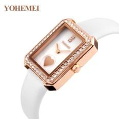 Nơi Bán Đồng hồ nữ dây da đính đá YOHEMEI CH381 – L7A  Tini shop