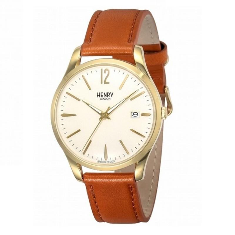 Nơi bán Đồng hồ nữ dây da Henry London HL39-S-0012 (Nâu) -  Hãng Phân phối chính thức