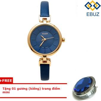 Đồng hồ nữ dây da JULIUS JA864 (xanh dương) + Tặng 1 gương trang điểm mini - 8212643 , JU025OTAA2JZ4TVNAMZ-4377019 , 224_JU025OTAA2JZ4TVNAMZ-4377019 , 789000 , Dong-ho-nu-day-da-JULIUS-JA864-xanh-duong-Tang-1-guong-trang-diem-mini-224_JU025OTAA2JZ4TVNAMZ-4377019 , lazada.vn , Đồng hồ nữ dây da JULIUS JA864 (xanh dương) + Tặng