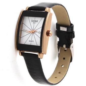 Đồng hồ nữ dây da Shina BeWatch BWN33 (Đen trắng)