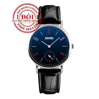 Đồng hồ nữ dây da SKMEI 9120CL (Đen)