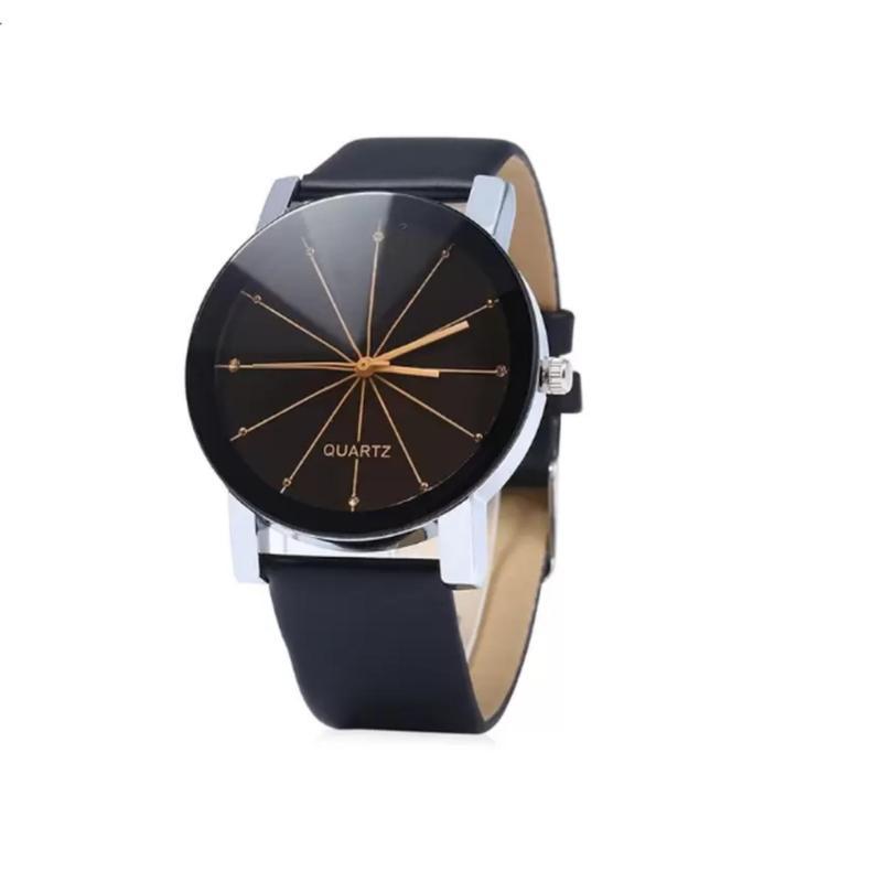 Nơi bán Đồng hồ nữ dây giả da thời trang PH002 (Đen)