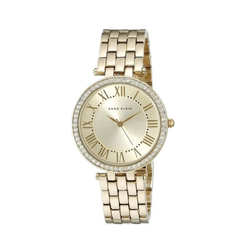 Nơi bán Đồng hồ nữ dây kim loại Anne Klein AK/2230CHGB (Vàng) - Hãng Phân phối chính thức