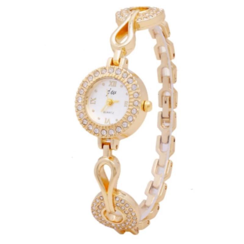 Nơi bán Đồng hồ nữ dây kim loại Bewatch B008 (Vàng)