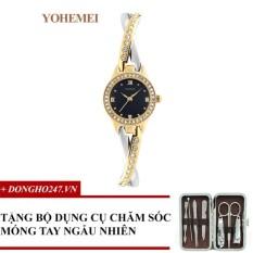 Khuyến Mãi Đồng hồ nữ dây thép đính đá YOHEMEI CH369 – D1A + GD01 + Tặng bộ cắt móng tay ngẫu nhiên  Tini shop