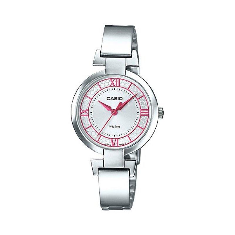 Nơi bán Đồng hồ nữ dây thép không gỉ Casio LTP-E403D-4AVDF (Bạc)