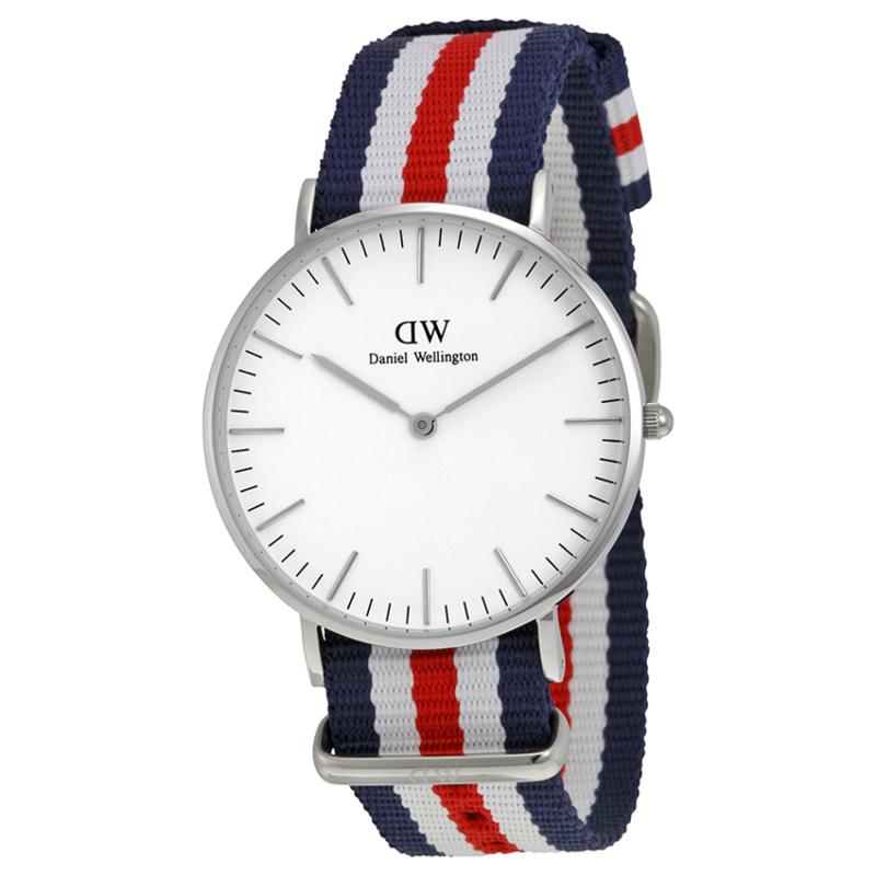 Nơi bán Đồng hồ nữ dây vải Daniel Wellington 0606DW (Trắng sò).