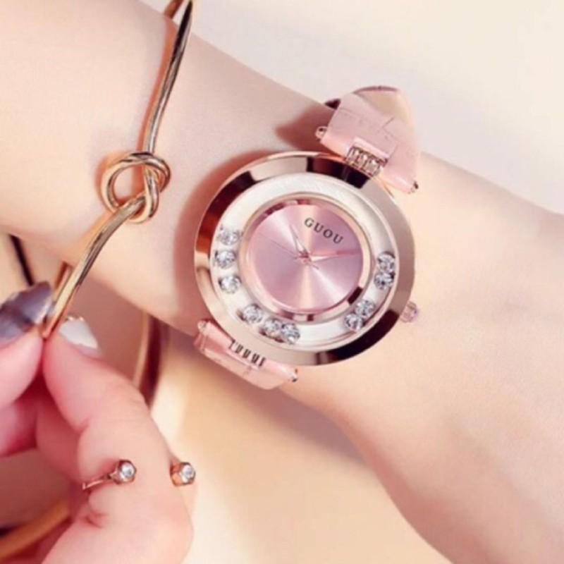 Nơi bán Đồng hồ nữ GUOU đá chạy thời trang GR-G0466