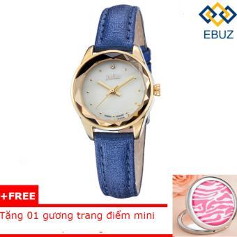 Đồng hồ nữ JULIUS JA723 dây da (xanh dương) + tặng gương trang điểm mini EBUZ - 8212676 , JU025OTAA2Q1H5VNAMZ-4673232 , 224_JU025OTAA2Q1H5VNAMZ-4673232 , 589000 , Dong-ho-nu-JULIUS-JA723-day-da-xanh-duong-tang-guong-trang-diem-mini-EBUZ-224_JU025OTAA2Q1H5VNAMZ-4673232 , lazada.vn , Đồng hồ nữ JULIUS JA723 dây da (xanh dương) + t
