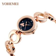 Giá Niêm Yết Đồng hồ nữ lắc tay đính đá YOHEMEI CH377 – 1A  Tini shop