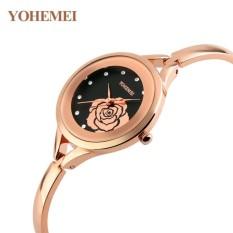 Địa Chỉ Bán Đồng hồ nữ lắc tay đính đá YOHEMEI CH380 – 1A  Tini shop