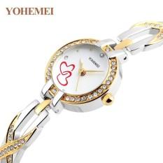 Nơi Bán Đồng hồ nữ lắc tay đính đá YOHEMEI CH382 – 7A  Tini shop