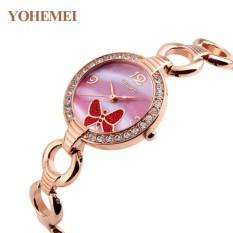 Nơi Bán Đồng hồ nữ lắc tay đính đá YOHEMEI CH388 – 10A  Tini shop