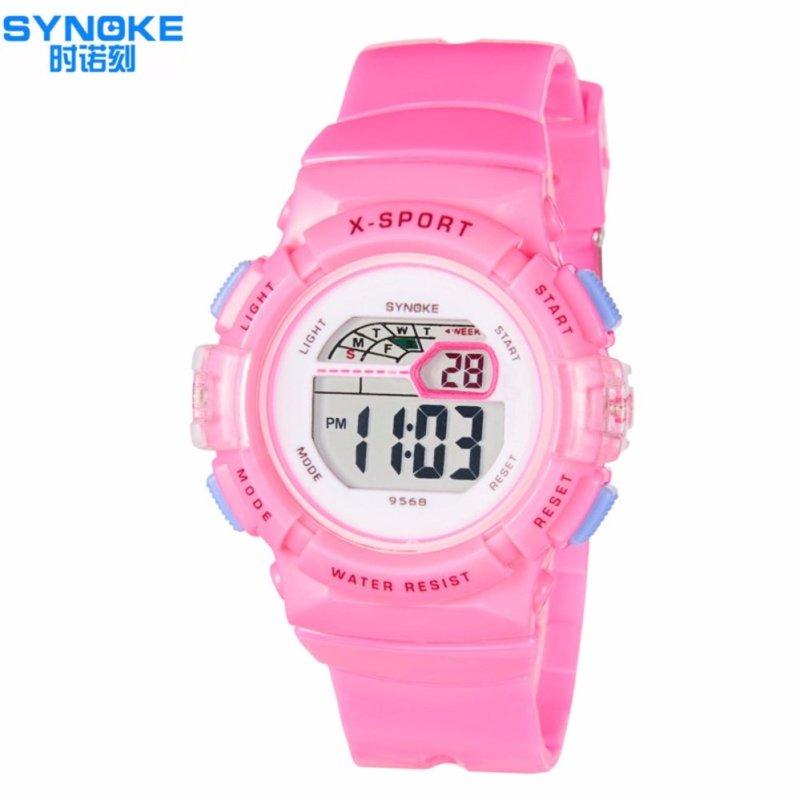 Đồng hồ thể thao cho bé gái Synoke 9568 (Hồng) bán chạy