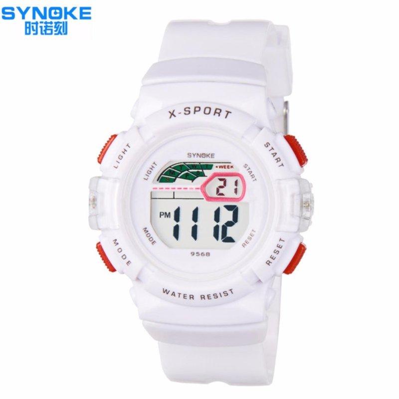 Đồng hồ thể thao cho bé gái Synoke 9568 (Trắng) bán chạy