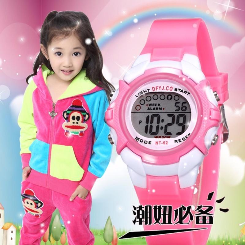 Đồng hồ thể thao cho bé gái t1 2017 bán chạy