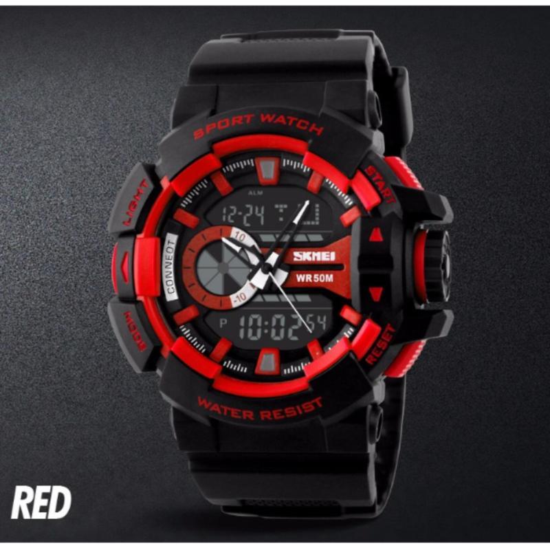 Nơi bán Đồng hồ thể thao đồng hồ chống nước skmei 1117 (Đỏ)PhuongThaoShop