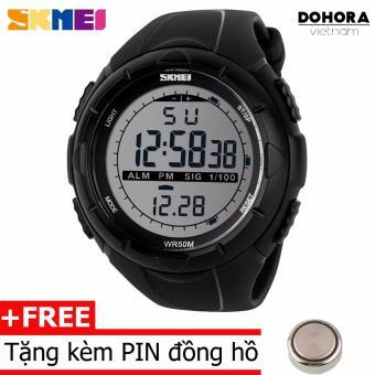 Đồng hồ thể thao Nam dây cao su SKMEI 1005