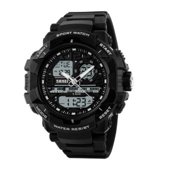 Đồng hồ thể thao nam dây nhựa SKMEI AD1164 (Đen)