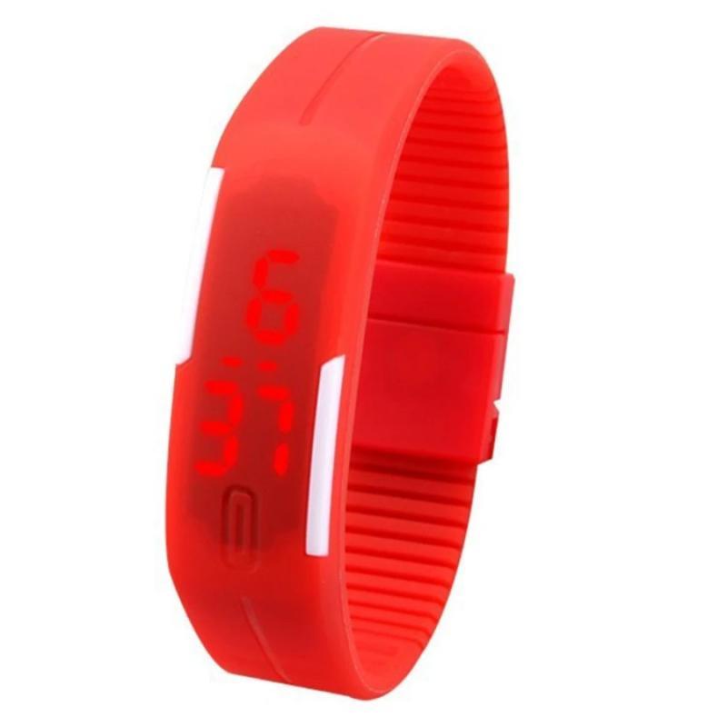 Đồng hồ thể thao thời trang LED (Đỏ) bán chạy