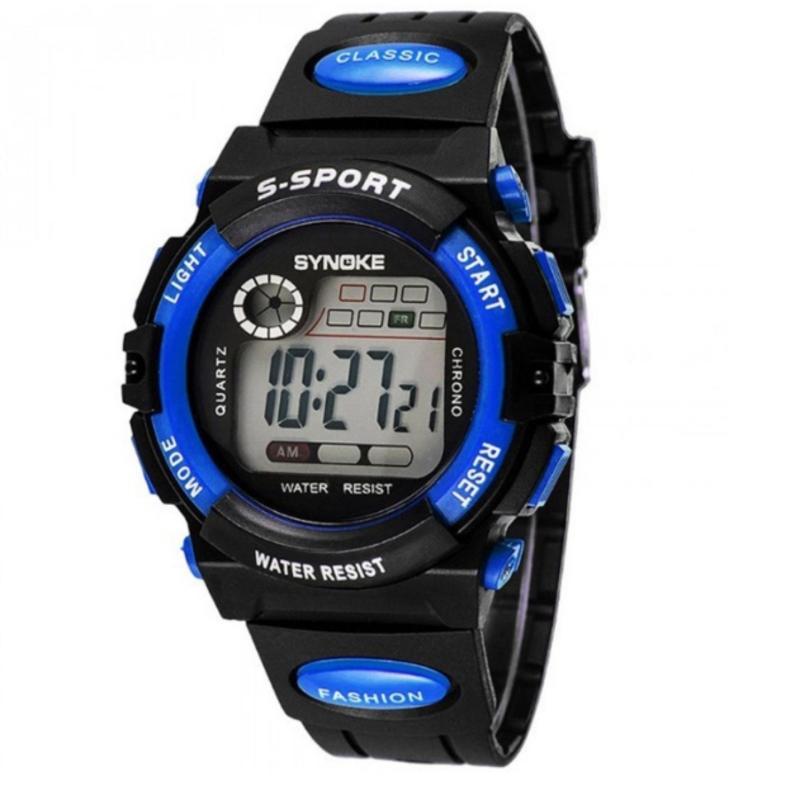 Đồng hồ thể thao trẻ em dây nhựa Synoke 99269 (Xanh dương) bán chạy