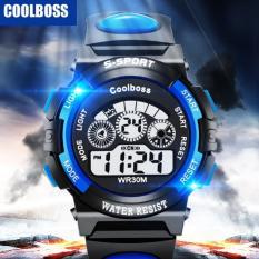 Đồng hồ thể thao trẻ em S-Sport Coolboss (xanh)
