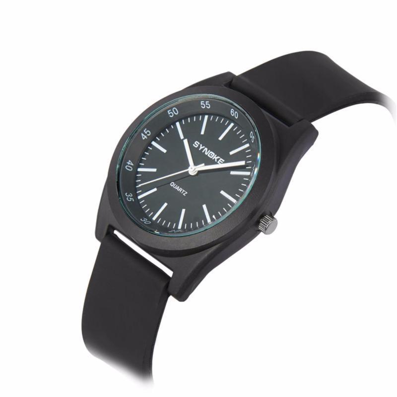 Đồng hồ thời trang kim S3695 màu đen bán chạy