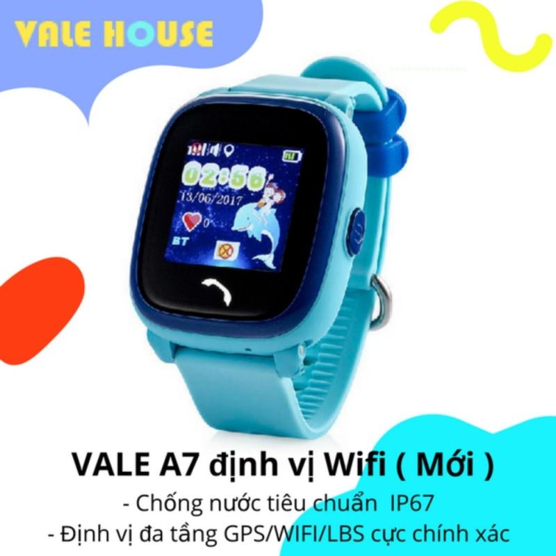Đồng hồ thông minh gọi điện, định vị GPS trẻ em VALE A7 ( Xanh Biển Lớn ) bán chạy